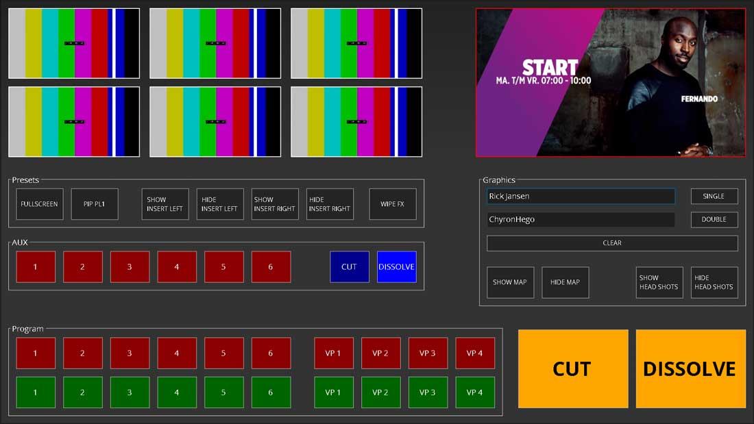 VidiGo News-Live Assist Panels-Live Switcher