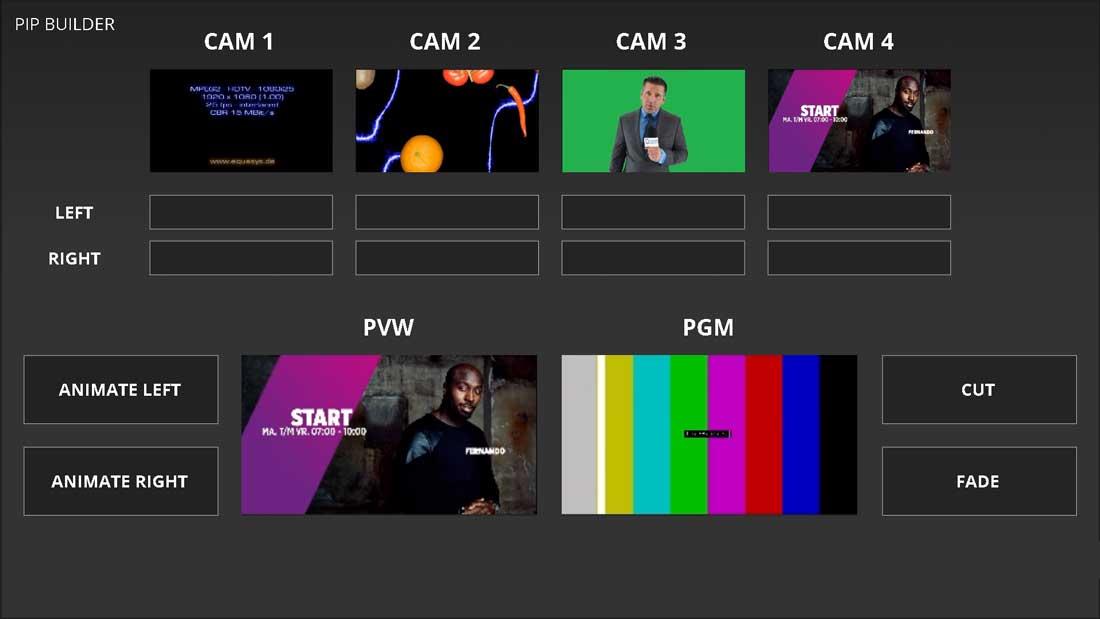 VidiGo News-Live Assist Panels-PIP Builder