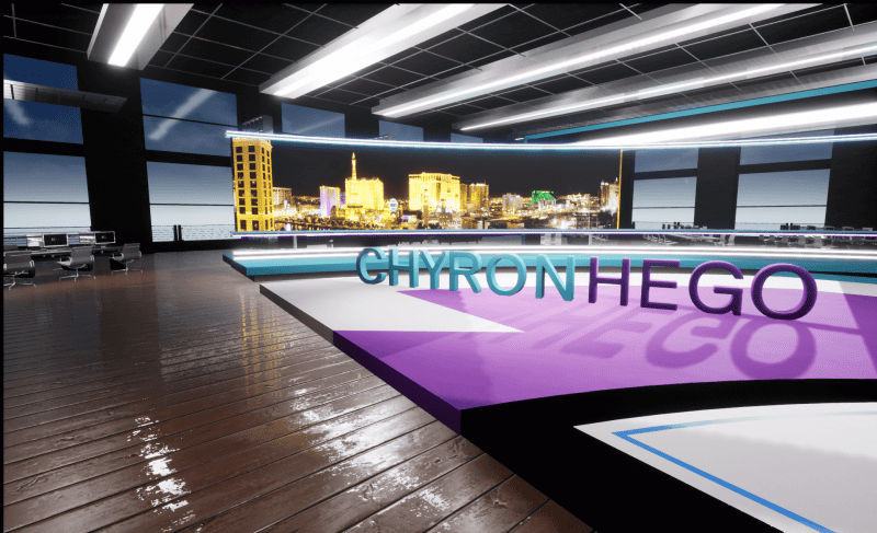 "ChyronHego Launches a ""Fresh"" Take on AR and Virtual Set Graphics"