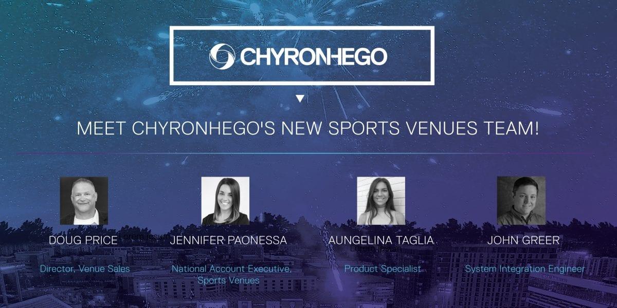 Meet Chyronhego's new sports venues team!